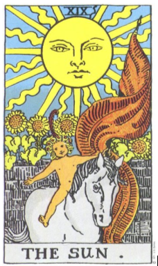 Таро. Экскурсия в Гермополь — 29. Аркан Солнце.