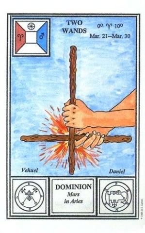 Лон майло дюкетт Таро церемониальной магии младшие арканы, енохианская магия и  гоэтия в картах таро