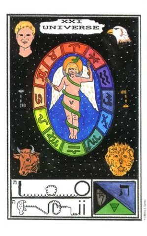 Галерея Таро Церемониальной Магии, Вселенная