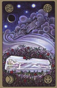 "Оракул Симболон. Карта ""Спящая красавица"""