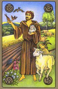 """Оракул Симболон. Карта """"Добрый пастырь"""""""