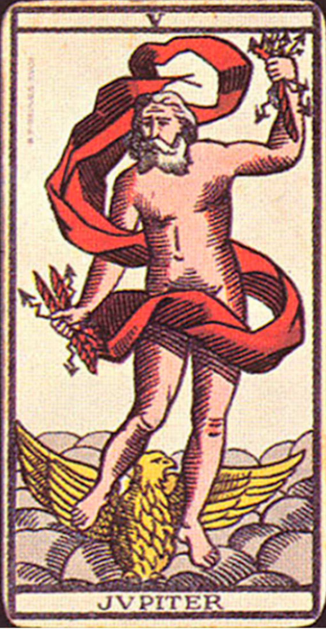 Таро Юноны и Юпитера