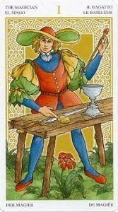 Универсальное Таро Вирта (Universal Wirth Tarot ), Аркан Фокусник