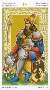 Универсальное Таро Вирта (Universal Wirth Tarot ), Аркан Император
