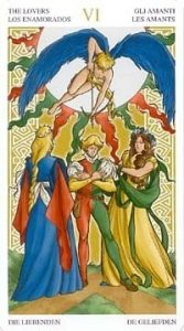 Универсальное Таро Вирта (Universal Wirth Tarot ), Аркан Влюбленные