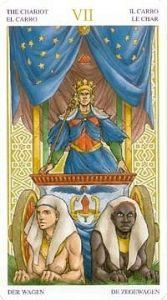 Универсальное Таро Вирта (Universal Wirth Tarot ), Аркан Колесница