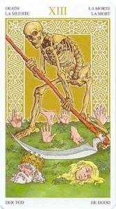 Универсальное Таро Вирта (Universal Wirth Tarot ), Аркан Смерть
