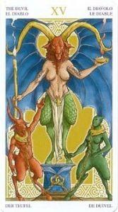 Универсальное Таро Вирта (Universal Wirth Tarot ), Аркан Дьявол