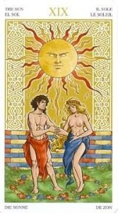 Универсальное Таро Вирта (Universal Wirth Tarot ), Аркан Солнце