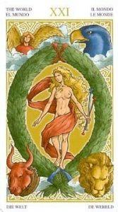 Универсальное Таро Вирта (Universal Wirth Tarot ), Аркан Мир