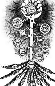каббалистическое древо жизни, древо сефирот
