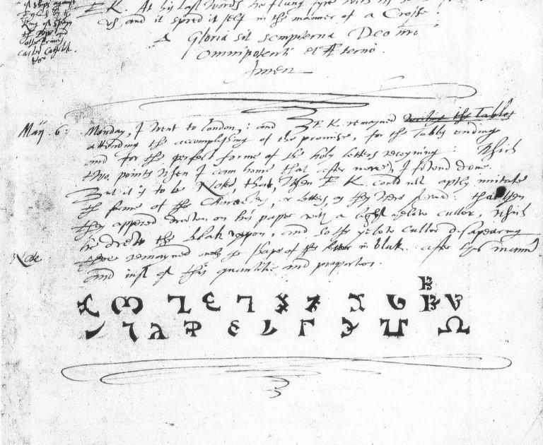 Енохианский алфавит