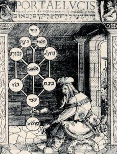 Первый рисунок Древа Жизни (Паоло Ричи)