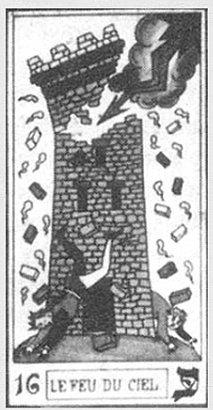 Карта, принадлежащая Кроули (Таро Вивиля)