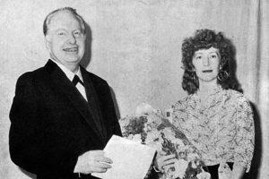 Рон Хабббард и Мэри Сью, его третья жена
