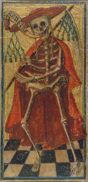 Таро Висконти-Сфорца (Виктория - Альберт), карта Смерть
