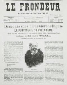 Лео Таксиль в газетах