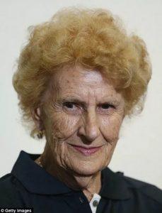 Марджори Камерон в старости