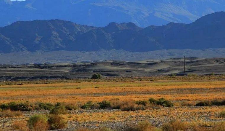 Место ритуала Лунного Дитя Парсонса и Хаббарда - пустыня Мохаве