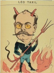 Карикатура на Лео Таксиля