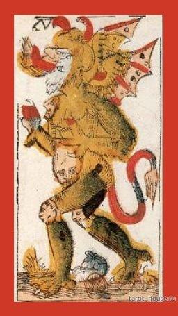 Дьявол в Таро Жака Вивиля